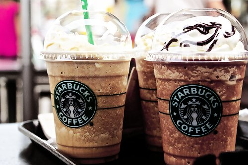 coffee, starbucks, yummy