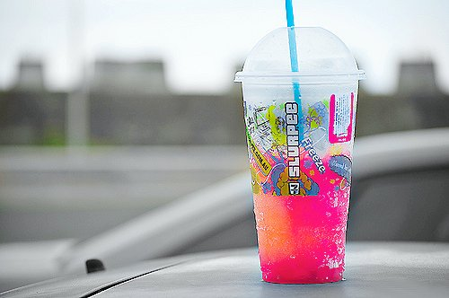colors, drinks, pink, slurpee, summer