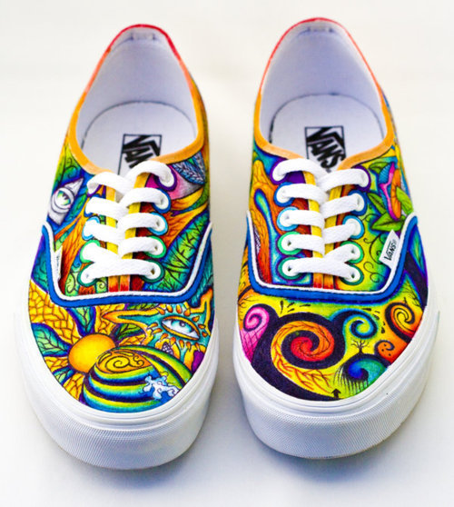 the gallery for cool shoe designs on vans