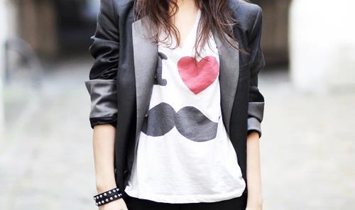 cool, cute, fashion, girl, heart