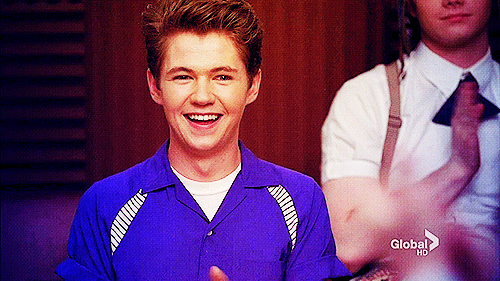 cute, damian mcginty, glee, leprechaun, rory