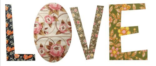 cute, floral, florals, love, pattern, patterns, pretty, vintage