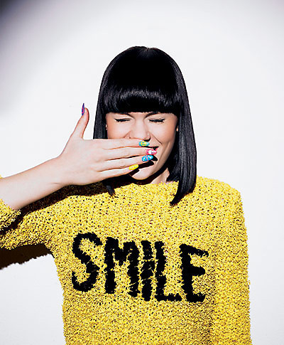 cute, girl, jessie j, photography, smile, yellow