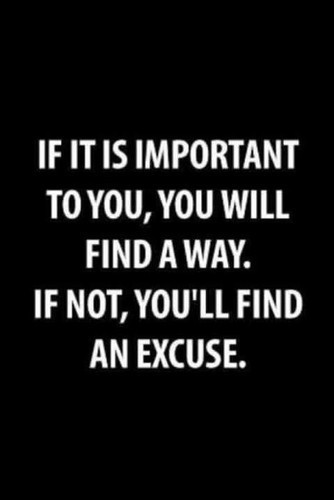 excuse important quotes way image 274034 on