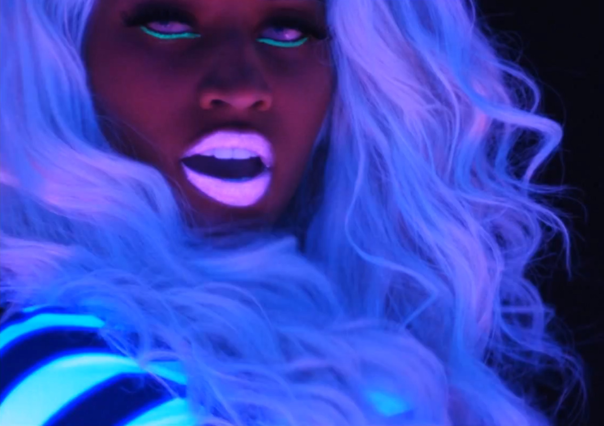 eyes, fluo, fosfo, girl, hair
