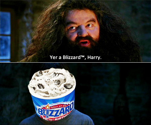 food, funny, harry potter, ice cream