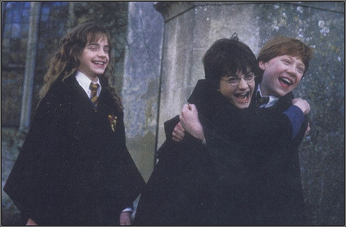 harry potter hug