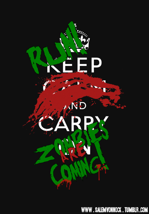 funny, humor, keep calm, lol, zombies