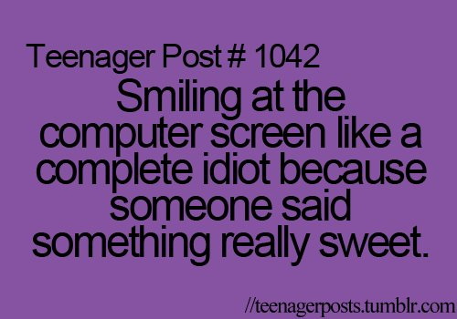 funny, idiot, smile, sweet, teenager post