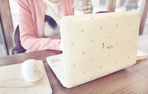 girl, laptop, photography, pink, pink berry