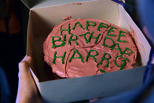 hagrid, happee birthdae, harry, harry potter