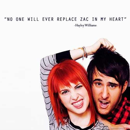 hayley williams, paramore, zac farro