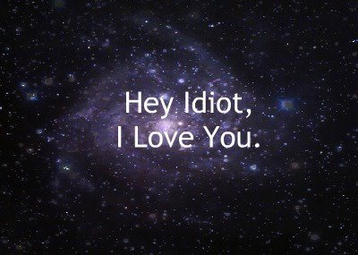 hipster stars, idiot, love, stars, text
