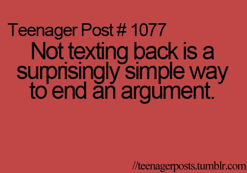 teenager post, teenagerposts, text