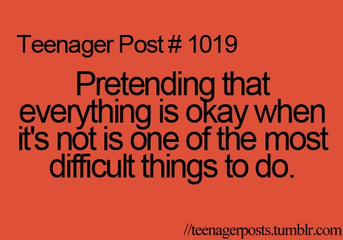 Teenager post tips you and i