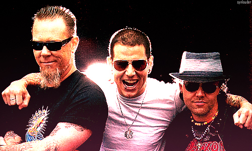 a7x, avenged sevenfold, james hetfield, lars ulrich, m shadows