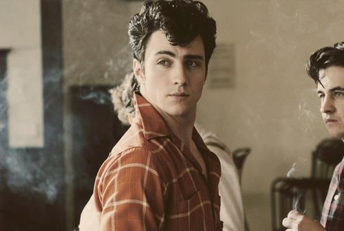 aaron johnson, actor, boy, hot, no where boy, smoke, vintage