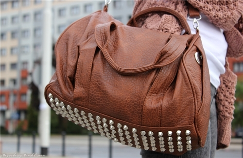 accessories, bag, bags, brown, cute