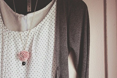 accessories, dress, girl, gold, jewerly, love, rose, vintage