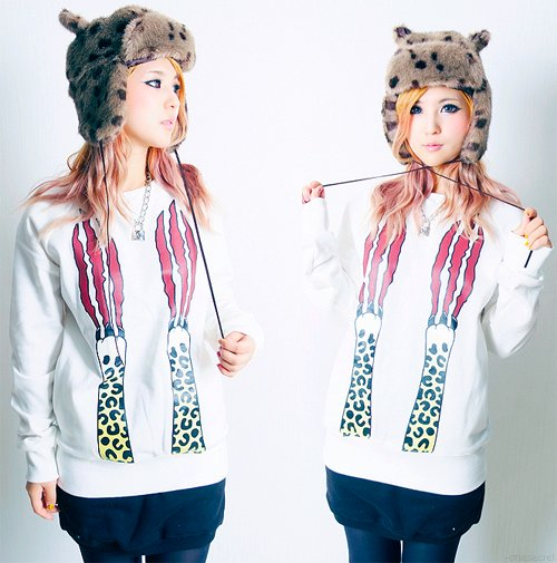 adorable, asian, blonde, blue eyes, fashion, fur, kfashion, korea, lovely, model, skinny, ulzzang, vintage, winter