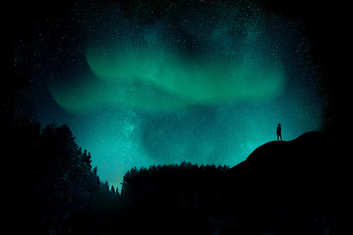 adorable, beautiful, landscape, nature, northern lights