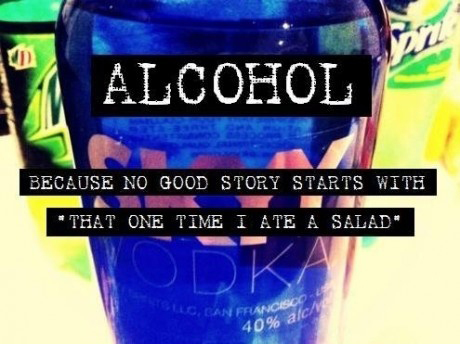 alcohol, drink, drinking, drunk, funny, party, salad, story, true, vodka
