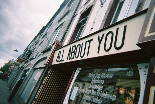 all about you, beauty shop, city, hipster, indie, make up, name, quote, shop, street, vintage