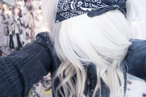 alternative, alternative girl, cute, girl, white hair