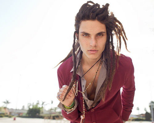 alternative, alternative guy, cute, dreads, piercing, samuel larsen