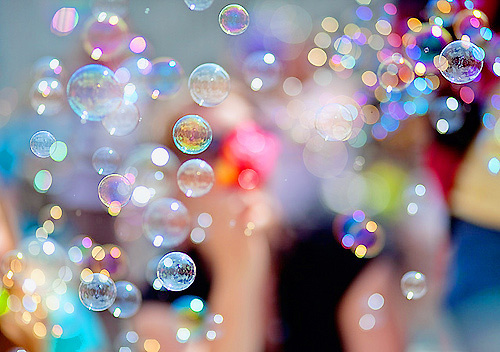 amazing, bokeh, bolhas, bolinhas, boobles, bubble, bubbles, cute, dream, happiness, pace, photography, rainbow
