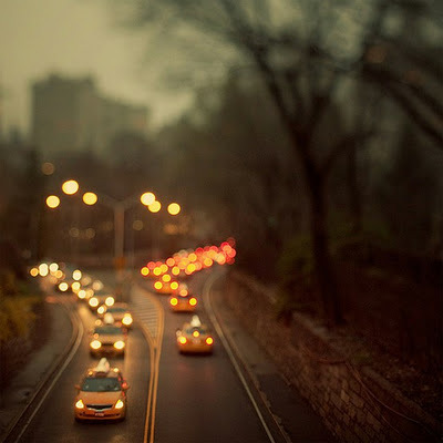 america, bokeh, brooklyn, city, city lights, cold, fall, home, lights, new york, night, nyc, romantic, stich, stick, streets, taxis, travel, usa, wanderlust, weather