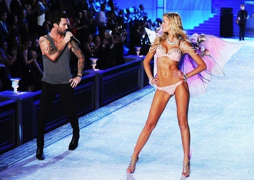 angels, body, fashion, maroon 5, runway