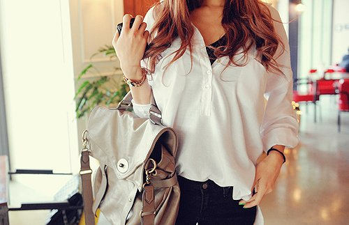 apple, asian, bag, bracelet, fashion