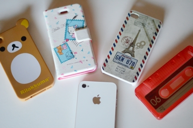 apple, bear, cases, cute, hello kitty