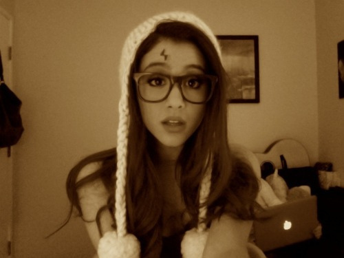 ariana, ariana grande, cat, cute, harry potter