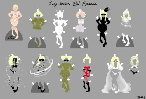 art, bad romance, doll, gaga, lady gaga, monster, sexy, videoclip, welcome to my bad romance