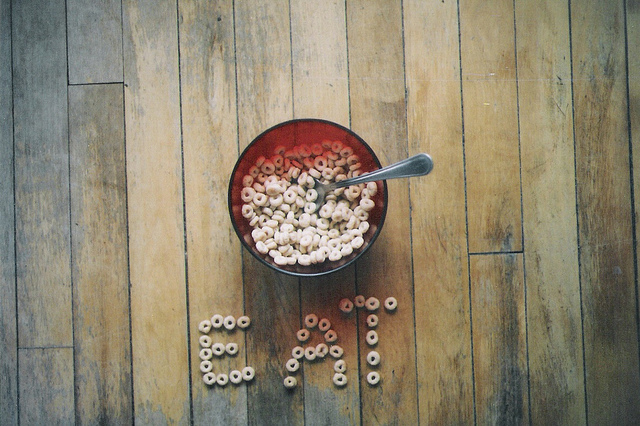 art, cereals, conceptual, eat, eating disorders