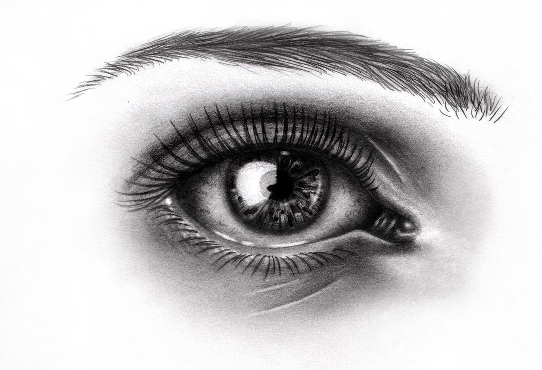 Added  Feb 06  2012   Image size  1080x739px   Source  artofnightsky    Cool Black And White Drawings Of Eyes