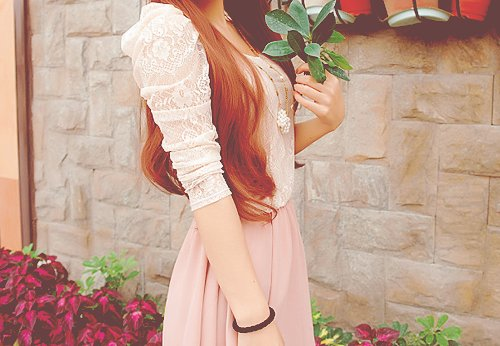 asian, asian girl, cute, fashion, flower