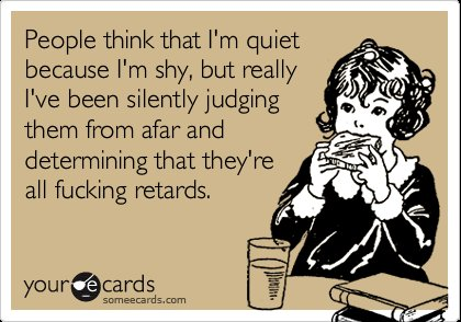 assholes, dont judge me, ecard, girl, judging