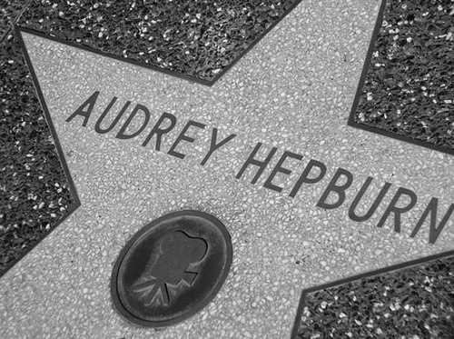 audrey, audrey hepburn, beauty, black and white, celebrities