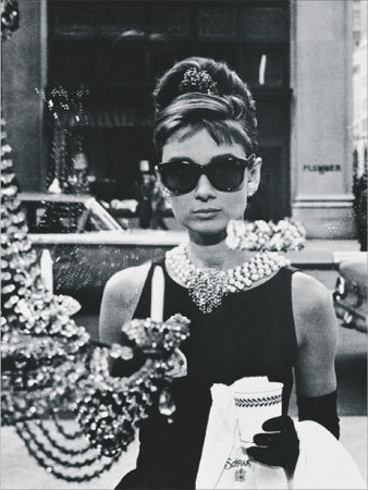 audrey hepburn, beauty, black and white, classic, classy, glamorous, shades, swag