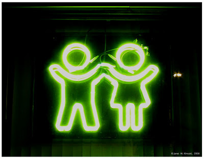 awesome, couple, cute, green, lights