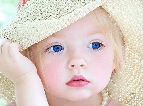 baby, blue, eyes, girl, love
