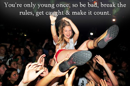 bad, blonde, break, fun, make it count, party, rules, teenager, young