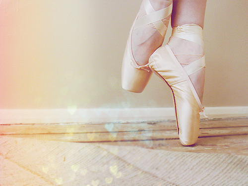 ballerina, bed, cute, delicate, girl, girly, pastel, pink