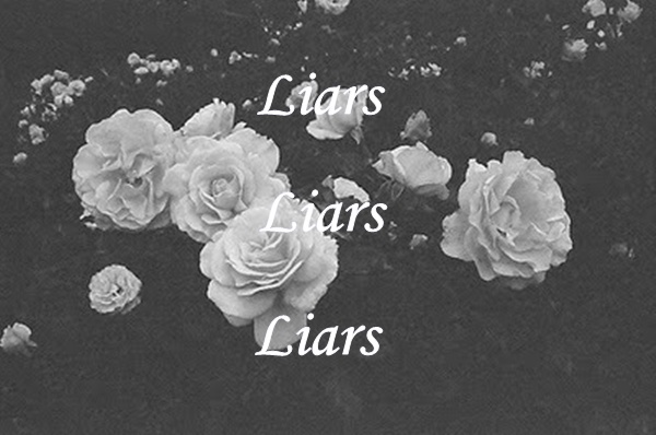 b&w, black and white, flower, flowers, liar, liars, quote, rose, roses, text, true, typography