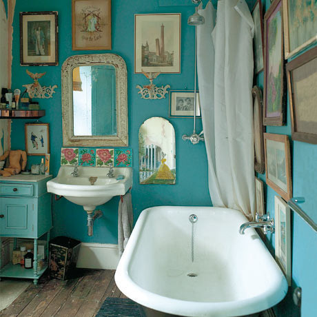 bathroom, blue, i want, rockalily