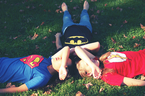 batman, bestfriend, friendship, girls , superman