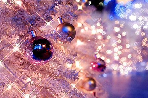 baubles, bokeh, christmas, christmas tree, lights
